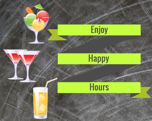 Enjoy Happy Hours but Sensibly