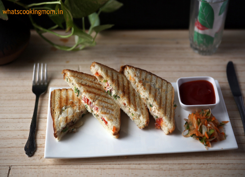 Summer cool Dahi Sandwich to beat the heat!