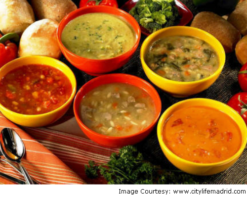 This monsoon, add soups in your tiffin menu