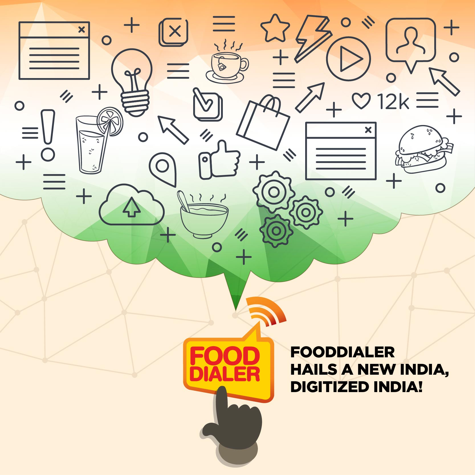 Fooddialer hails a digital India!